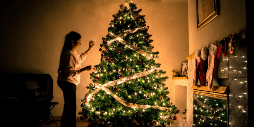 christmas lights-banner